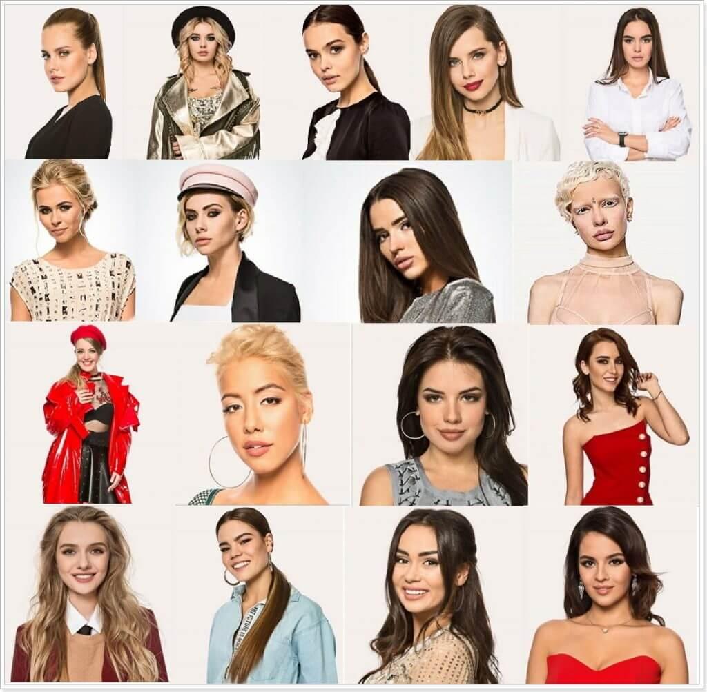 Участницы шоу холостяк 2018