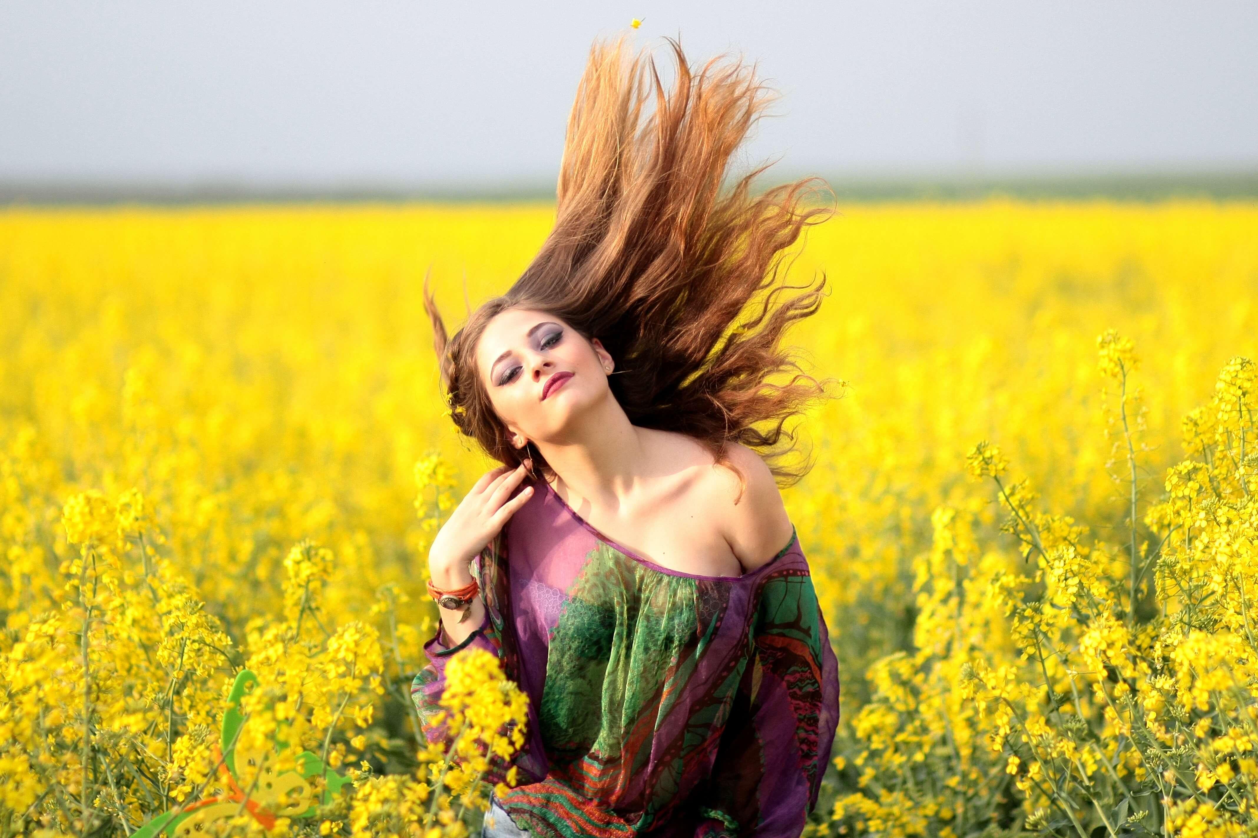 Горчица для роста и питания волос