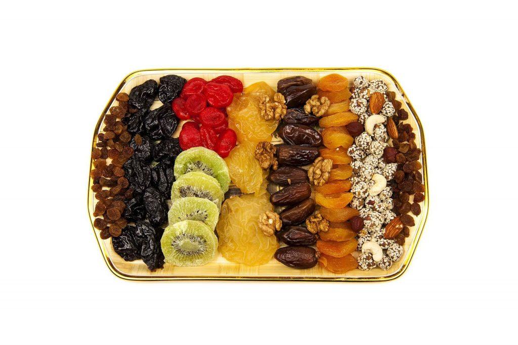 Замена сладостей сушеными фруктами