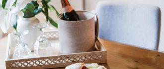 Лучшие закуски к шампанскому